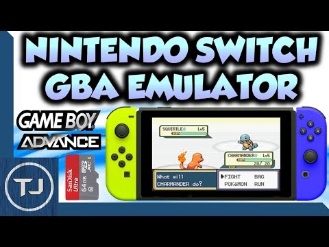 Playing GBA Games On Switch!