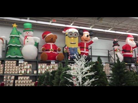 50 DAYS UNTIL CHRISTMAS - WALMART XMAS SECTION (Neptune, NJ) - New Jersey Shopping Decorations