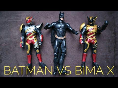 BATMAN VS BIMA X SATRIA GARUDA [VERY FUNNY]