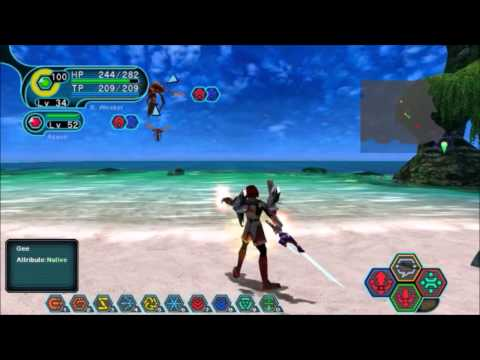 Phantasy Star Online Blue Burst - EPII Central Control Area + Boss