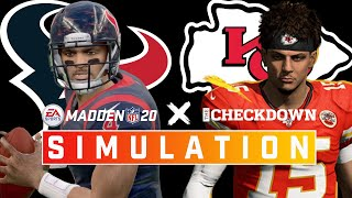 Houston Texans vs. Kaฑsas City Chiefs Week 1 Full Game | Madden 2020 Season Simulation