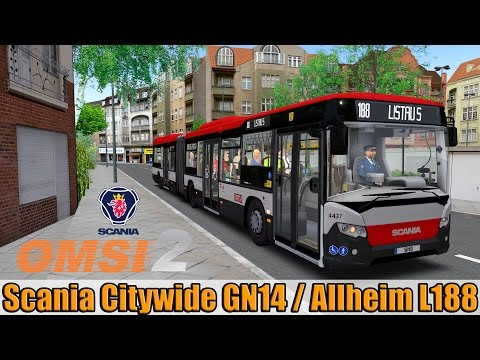 OMSI 2  - Scania Citywide GN14 in Allheim Line 188