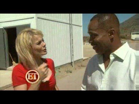 NCIS 2008  Rocky Carroll and Liza Lapira! By ET