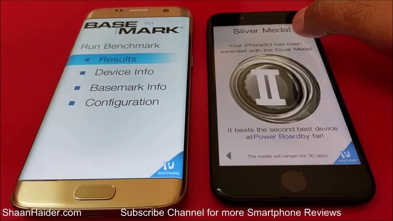 s7 vs iphone 7 benchmark