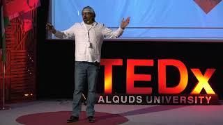 حدودي السماء | Nidal and his son, Abdullatif Gheith | TEDxAlQudsUniversity