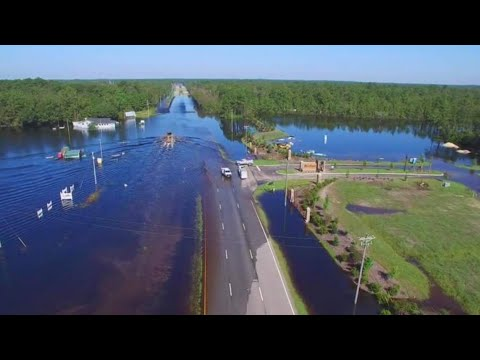 Flooding in Conway SC Myrtle Beach Horry County Hurricane Florence