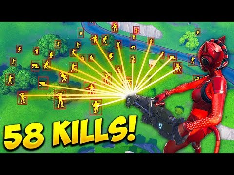 *HACKER* GETS 58 KILLS SOLO! - Fortnite Funny Fails and WTF Moments! #447