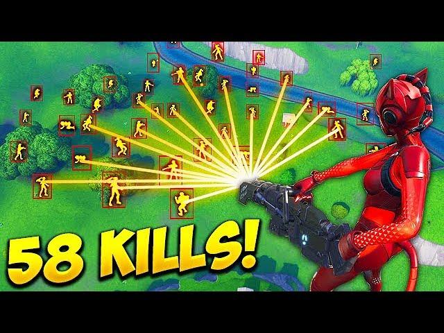 * HACKER * ERHÄLT 58 TÖTE SOLO! - Fortnite Funny Fails und WTF Moments! # 447 + video