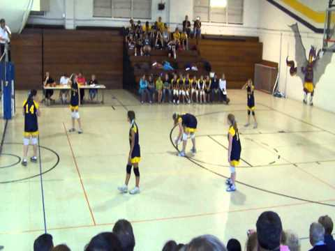 Jefferson Middle School Girl's Volleyball at Hanes Middle School