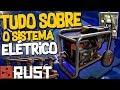 Rust 🤖 Tudo Sobre O Sistema ELÉTRICO   Sentry   Eólica   Gerador   Painel Solar