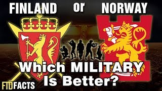 FINLAND or NORWAY - Which Military is Better?