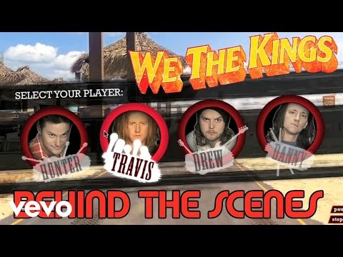 We The Kings - Say You Like Me (Behind The Scenes)