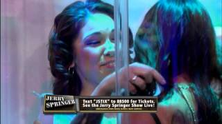 Sexy Shower Scene! (The Jerry Springer Show)