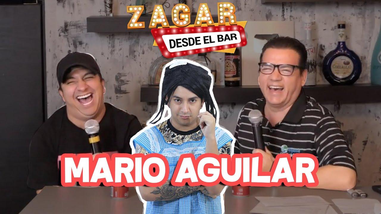 Zagar desde el Bar con Mario Aguilar - YouTube