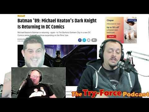 #198 Try-Force Podcast: Hardcore Batman Super Knitting League