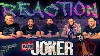 JOKER - Teaser Trailer REACTION!!