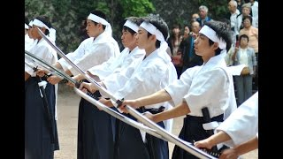 Japan's Byakkotai White Tiger Dance 白虎隊剣舞