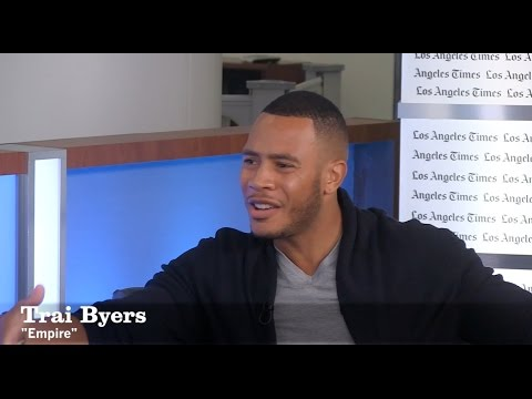 Trai Byers, now a certified model, credits his 'Empire' character for upping his style game