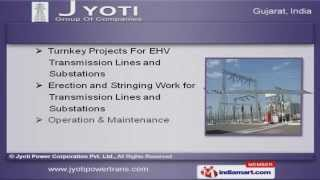 ehv transmission towers by jyoti power corporation pvt ltd ahmedabad