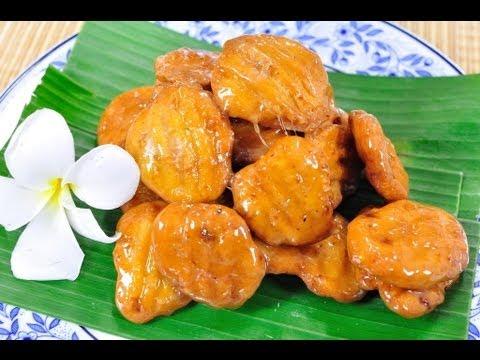 ครองแครงกรอบฟักทอง Crunchy Caramelized Thai Cookie