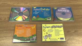 Personalized Jump & Play CD from CP Toys