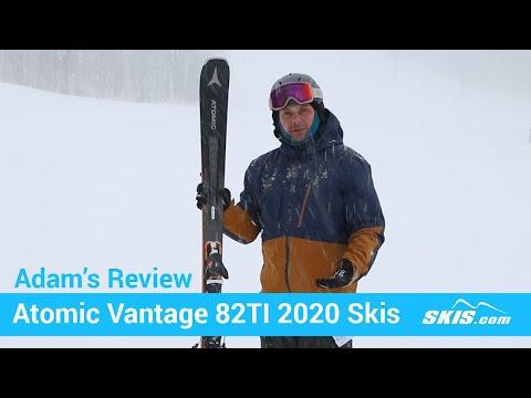 Adam's Review-Atomic Vantage 82 TI Skis 2020-Skis.com