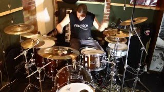 Muse - Stockholm Syndrome (drum cover)