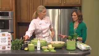 Watch Chef Laurie Go Green For St. Patrick's Day