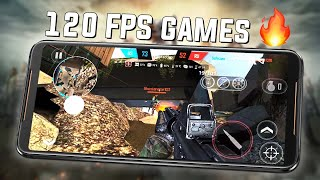 Top 10 Games that support 120fps (120Hz) ft ROG Phone 2!