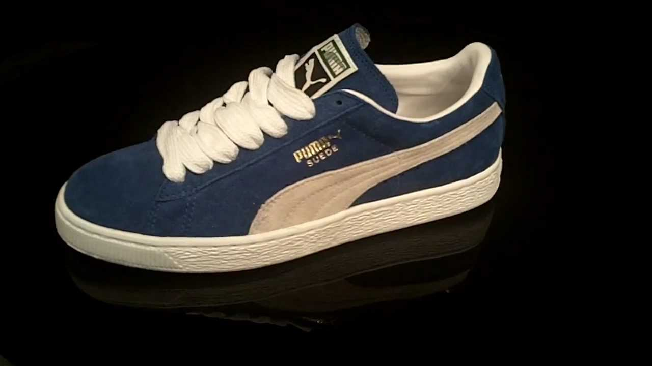 Puma Suede Blue White
