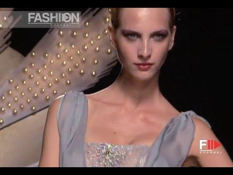 GATTINONI Fall 2009/2010 Haute Couture Paris - Fashion Channel