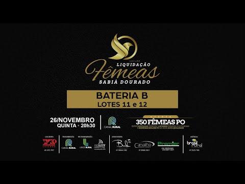 BATERIA B   11 e 12