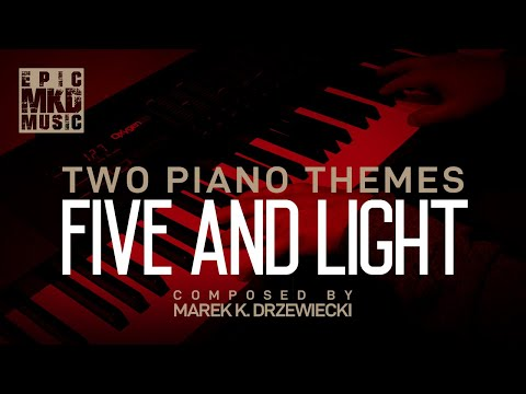 "Two piano themes from album ""Horror And Hope"". Tracks Five and Light."