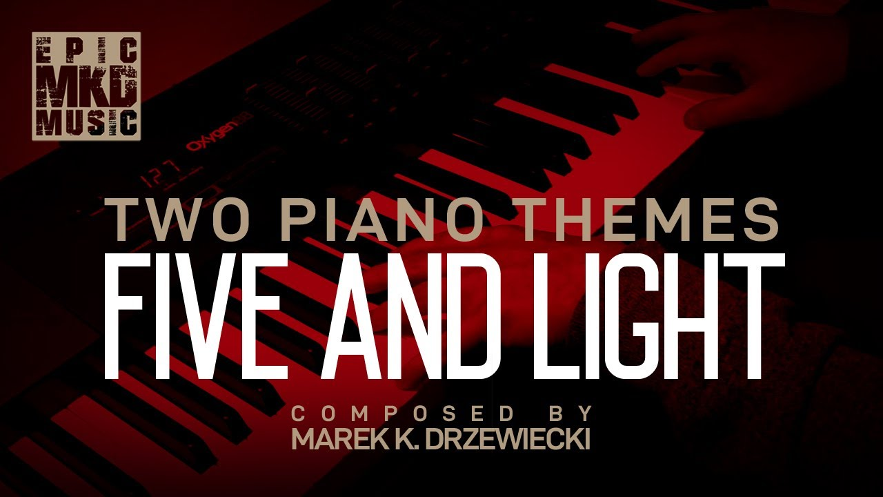 Two Piano Themes Series - Video 1. Tracks Five and Light.