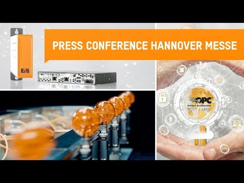 Press Conference - Live @ Hannover Messe 2018