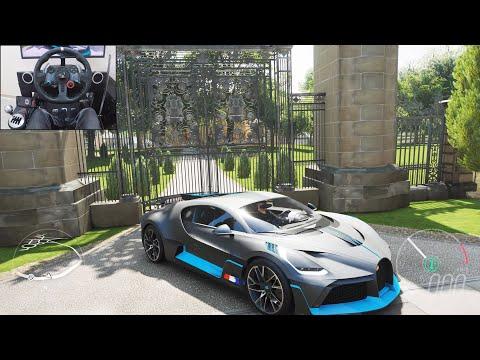 Bugatti Divo  Forza Horizon 4 | Logitech g29 gameplay