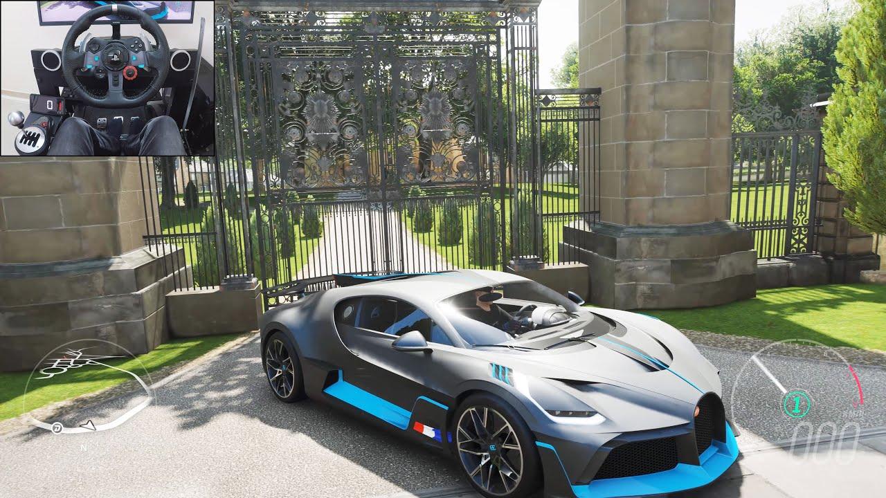 Bugatti Divo - Forza Horizon 4 | Logitech g29 gameplay