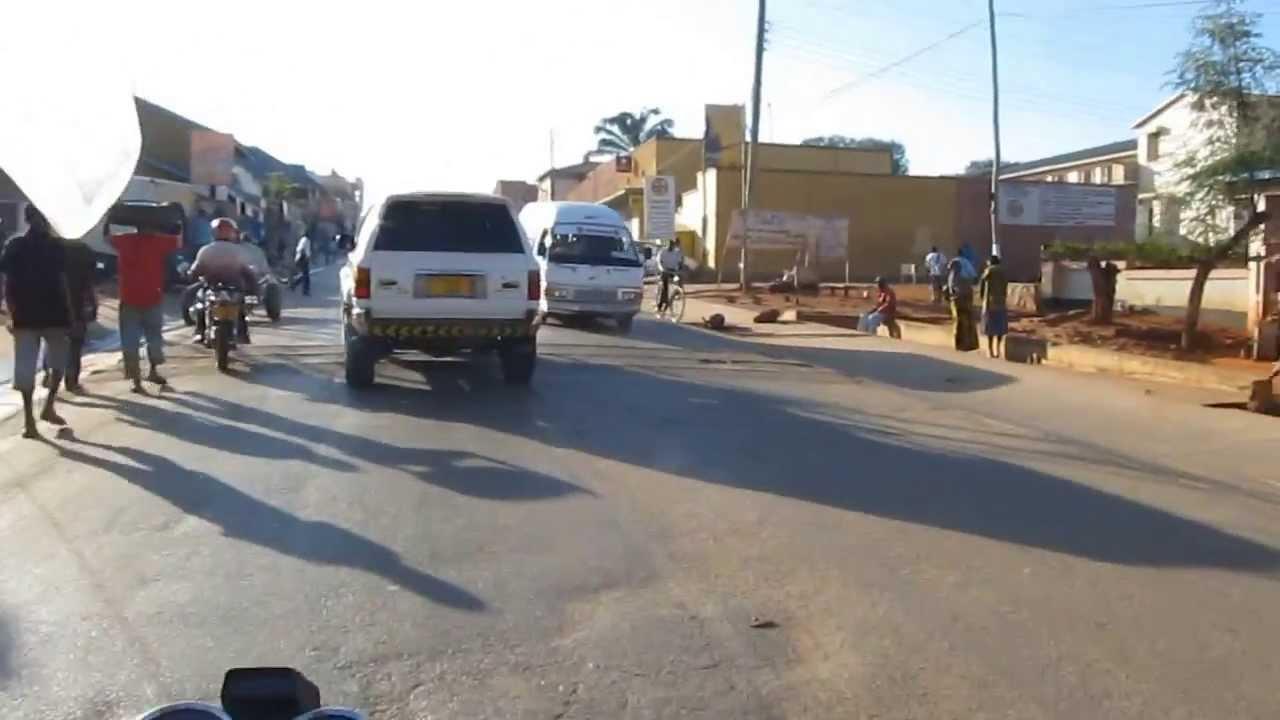 Pikipiki drive in Songea, Tanzania