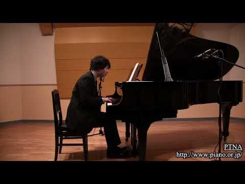 池辺 晋一郎:雲の散歩-こどものためのピアノ曲集 昼さがりの雲は子守歌を歌う  pf. 菅原 望:Sugawara, Nozomu