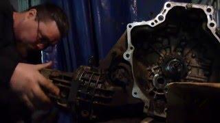 ремонт акпп мазда 626(капелла)вскрытие..