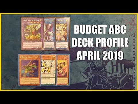 Budget ABC Deck Profile $100 | April 2019