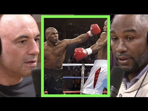 Clint August - Lennox Lewis on Fighting Mike Tyson | Joe Rogan. Lewis would still fight???