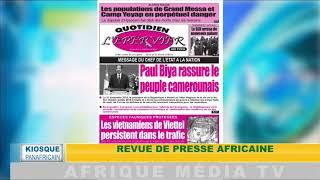 KIOSQUE PANAFRICAIN DU 02 01 2019