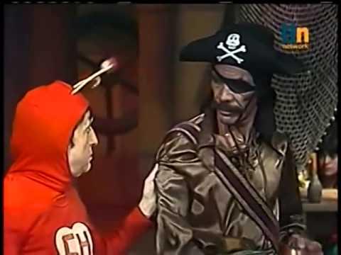 Chapolin - Os Piratas - Parte 1 - 1975