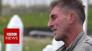 Massacre survivor: 'The soil is soaked with blood' - BBC News
