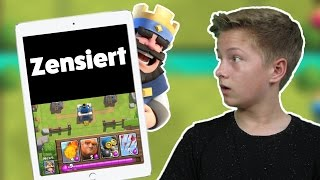 CLASH ROYALE - Half Screen Challenge! Max Apps