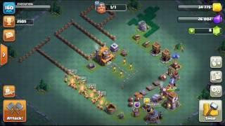 (Clash of Clans) 2500 Trophy BH4 Strategy and Base Design! Win Against Bh5s!