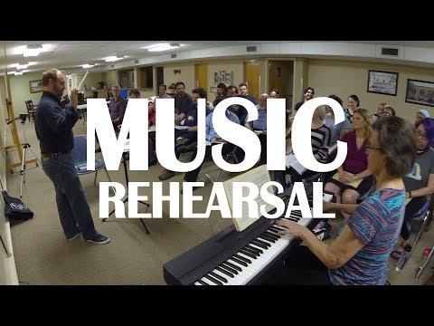 Ruddigore Music Rehearsal