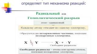 Самкова Т С  химия урок 3 Типы химических реакций в органической химии