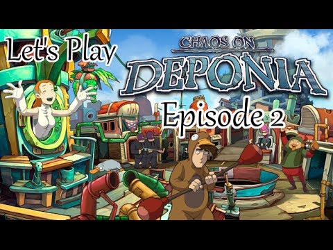 Let's Play Chaos On Deponia - Episode 2